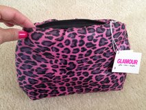 NWT Leopard Puffy Clutch Purse Makup Bag in Lockport, Illinois