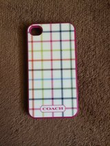 Coach iPhone 4/4S case in Ramstein, Germany
