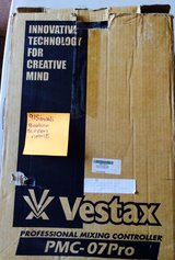 VESTAX PMC PRO 7-RARE GOLD FACEPLATE in El Paso, Texas