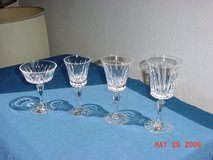 Sevres Crystal Stemware Glasses - Service for 12 in Ramstein, Germany