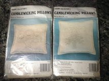 CANDLEWICKING PILLOW KITS in Oswego, Illinois
