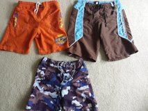 Boys Swim Trunks 2 pr Size 8 1 pr size 4/5 in Naperville, Illinois