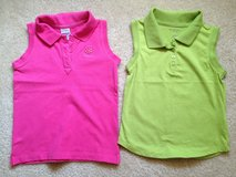 Girl 5 Osh Kosh/Sonoma Summer Shirts in Aurora, Illinois