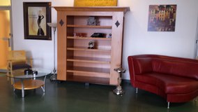 Stunning Burled Wall unit/ Entertainment Display in Chicago, Illinois