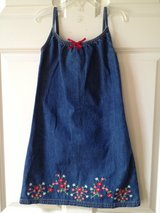 Girl's GAP 5/6 Jean Summer Dress in Aurora, Illinois