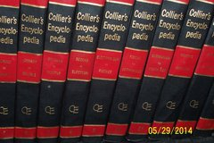 Collier's Encyclopedia Twenty-Four Volumes 1963 in Kingwood, Texas